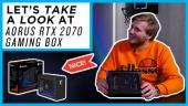Nopea katsaus - Aorus RTX 2070 Gaming Box
