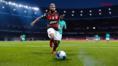 eFootball PES 2021 - Flamengo-julkistustraileri