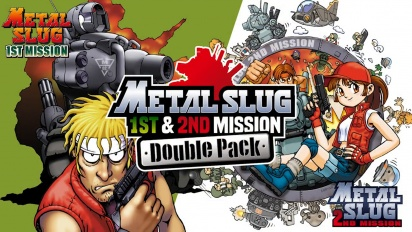 Metal Slug 1st Mission & 2nd Mission Double Pack - Nintendo Switch -traileri