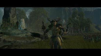 Total War Warhammer - Realm of the Wood Elves -pelikuvatraileri