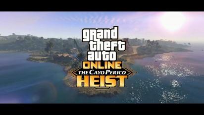 GTA Online - The Cayo Perico Heist -traileri