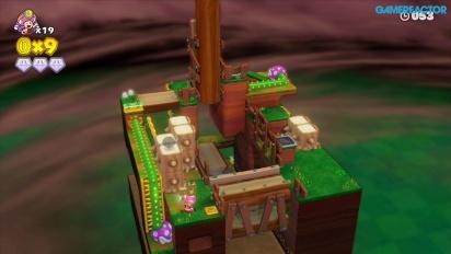 Captain Toad: Treasure Tracker -pelikuvaa: Mission 2-2 Stumper Sneakaround