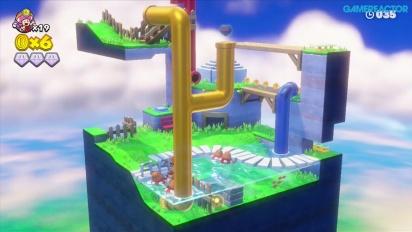 Captain Toad: Treasure Tracker -pelikuvaa: Mission 2-5 Floaty Fun Water Park