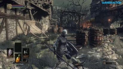 Dark Souls III -pelikuvaa: Undead Settlement A