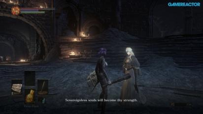 Dark Souls III -pelikuvaa: Firelink Shrine