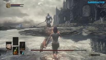 Dark Souls III -pelikuvaa: Tutorialboss