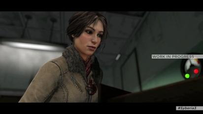 Syberia 3 - Kate Walkerin uusi seikkailu -trailer