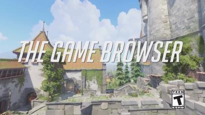 Overwatch - esittelyssä Game Browser