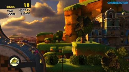 Sonic Forces - Pelikuvaa kustomoidulla hahmolla (Switch-versio)