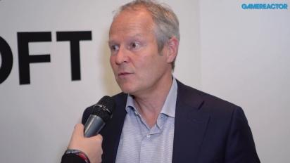 Ubisoft - Yves Guillemot haastattelussa