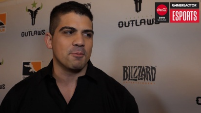 Overwatch League – Matt 'Flame' Rodriguez (Houston Outlaws) haastattelussa