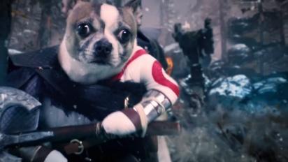 God of War - Dog of War -traileri, vain PS4:llä