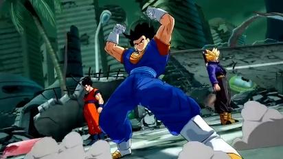 Dragon Ball FighterZ - Super Saiyan Blue Vegito -traileri