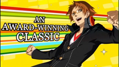 Persona 4 Golden - Official Steam Traileri