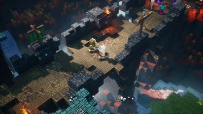 Minecraft Dungeons: Howling Peak - virallinen julkaisutraileri