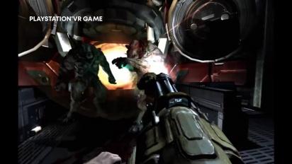 Doom 3 VR Edition - PSVR-pätkä