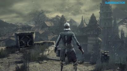 Dark Souls III -pelikuvaa: Arrival Undead Settlement