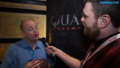 Quake Champions - Tim Willitsin haastattelu