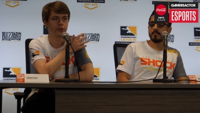Overwatch League – San Francisco Shock Press Conference (Day One)