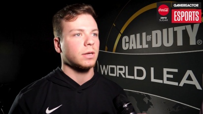 CWL Anaheim 2018 - Gravity haastattelussa