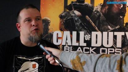 Call of Duty: Black Ops 4 (PC) - Thomas Wilson haastattelussa