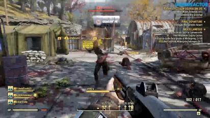 Fallout 76 - Event: Collision Course -pelikuvaa