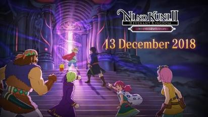 Ni no Kuni II: Revenant Kingdom - The Lair of the Lost Lord -traileri