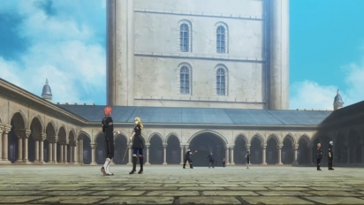 Fire Emblem: Three Houses - Officers Academy -traileri