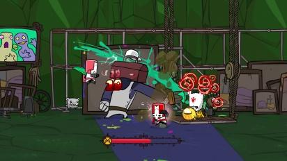 Castle Crashers Remastered -paljastustraileri