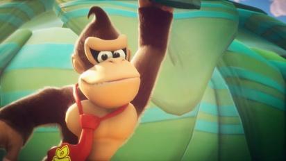 Mario + Rabbids Kingdom Battle - esittelyssä Donkey Kong