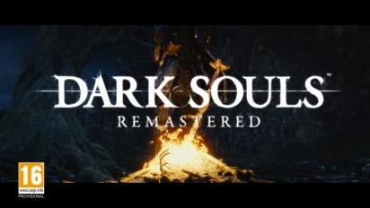 Dark Souls Remastered - julkistustraileri