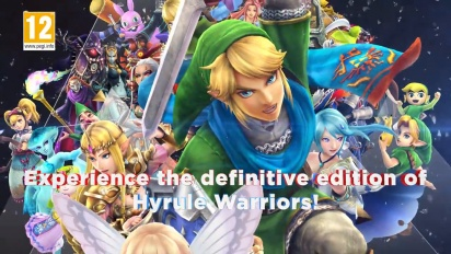 Hyrule Warriors: Definitive Edition -traileri