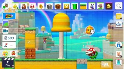 Super Mario Maker 2 - julkistustraileri
