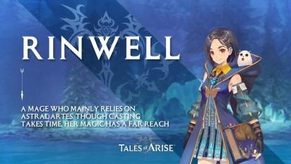 Tales of Arise - Rinwell Character Traileri