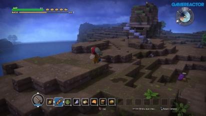 Dragon Quest Builders -tutkimusmatkailua