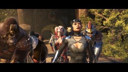 Injustice 2 - virallinen pelikuvan julkaisutraileri