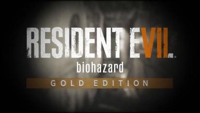 Resident Evil 7: Biohazard Gold Edition - julkistustraileri