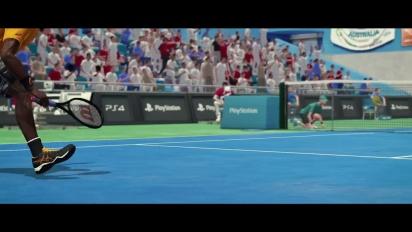 Tennis World Tour - PGW 2017 -paljastustraileri