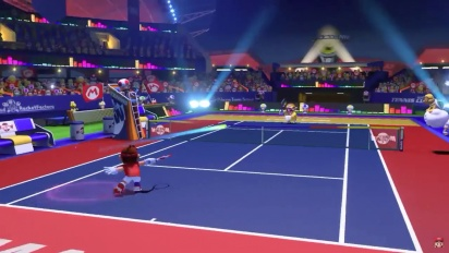 Mario Tennis Aces - paljastustraileri