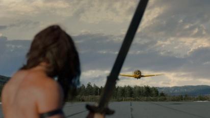 Conan Exiles - Conan vs. Airplane