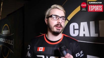 CWL Anaheim 2018 - Gunless Champions haastattelussa