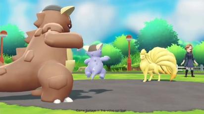Pokémon: Let's Go Pikachu!/Let's Go Eevee! - Mega Kangaskhan ja Mega Gyarados -traileri