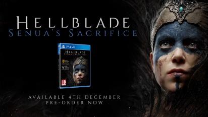 Hellblade: Senua's Sacrifice - PS4 Retail Edition -traileri