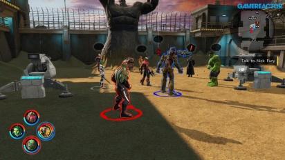 Marvel Ultimate Alliance 3: The Black Order - Co-op-pelikuvaa