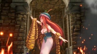 Trials of Mana - Hawkeye and Riesz Character Spotlight -traileri