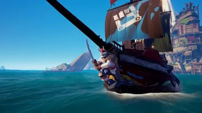 Sea of Thieves - Mutinous Fist Ship Set Reveal Traileri