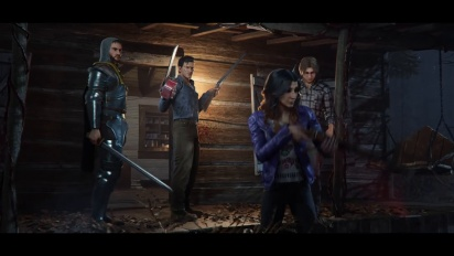 Evil Dead: The Game - julkistustraileri
