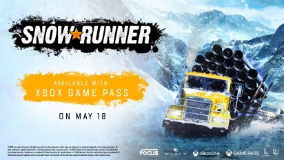 SnowRunner - Now Available on Xbox Game Pass -traileri