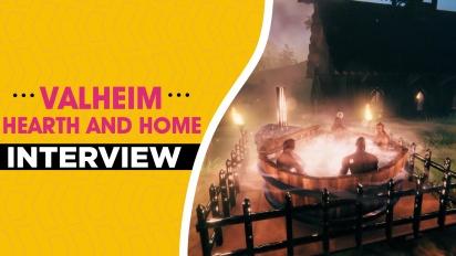 Valheim Hearth and Home - Robin Ayre ja Lisa Kolfjord haastattelussa