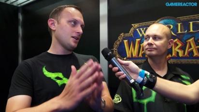 World of Warcraft: Legion -haastattelu paljastustilaisuudesta